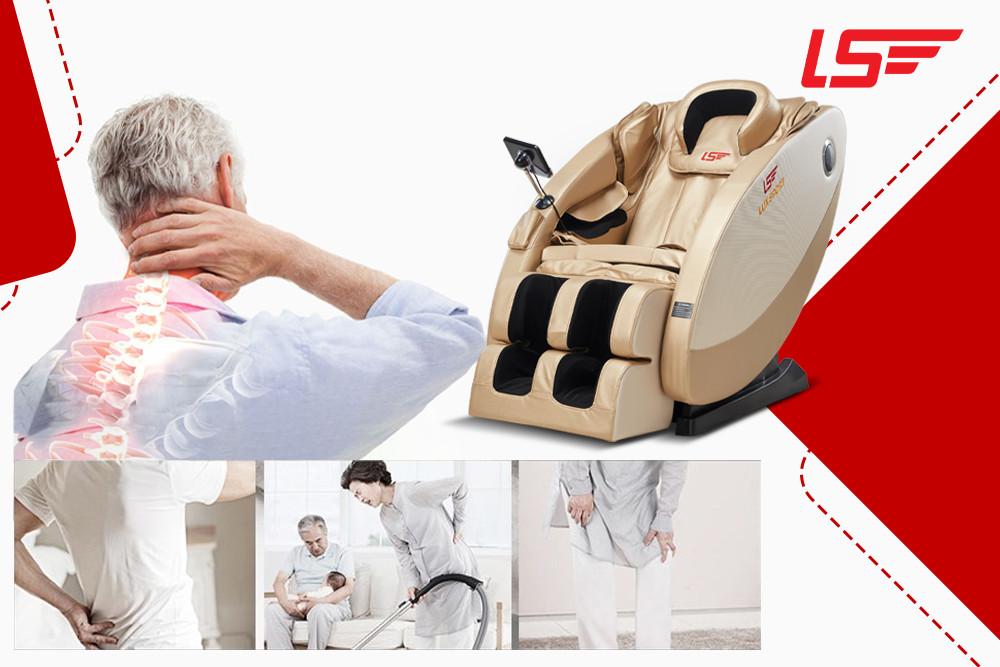Cần lưu ý gì khi mua ghế massage cho người bị bệnh xương khớp?